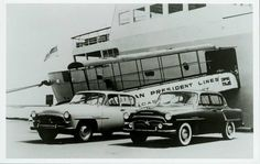 1957 - The first Toyopet Coronas arrived in the US