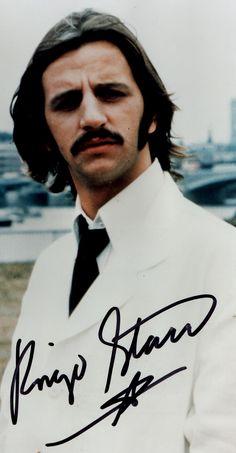 Richard Starkey (beautiful signed photo)