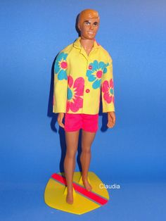 Sears Exclusive Malibu Ken Doll Surf´s Up Gift Set 1248 Excellent Near Complete | eBay