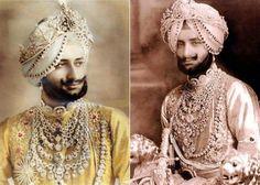 Maharaja Bhupinder Singh & Maharaja Yadavinder Singh
