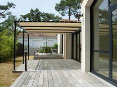Bache Pergola, Toile Pergola, Gazebo, Outdoor Structures, Wood, Outdoor Decor, Home Decor, Outdoors, Gardens