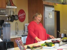 Cookbook author and Santa Fe food maven Cheryl Alters Jamison got things rolling in the kitchen for our January 2014 Culinary BootCamp