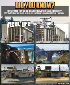 Real Life vs. GTA V