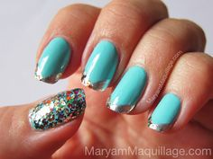 ! Maryam Maquillage !: Spring Bling Nails!