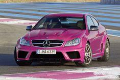 Pink Mercedes