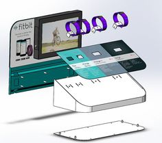 FitBit-Wristdevice-POS-170415-SolidWorksDrawings.jpg 750×665 pixels