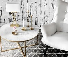 marble & gold