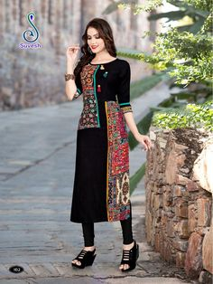 Iranian Women Fashion, Indian Fashion, Kurta Designs Women, Blouse Designs, Funky Dresses, Dresses For Work, Pakistani Dresses, Indian Dresses, Kurtha Designs