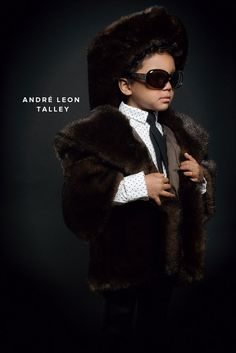 Fashion Icons Halloween Costumes: Andre Leon Talley | Oh Happy Day!