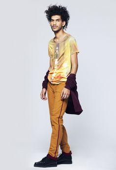 T-shirt Été indien & pantalon Bombeiro - pour homme - marque Boys don't cry / Men's t-shirt - Boys don't cry brand