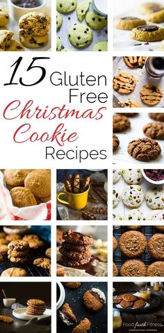 15 Gluten Free Christmas Cookies - The ULTIMATE roundup of 15 EASY and DELICIOUS, healthier gluten free holiday cookies that everyone will love! From gluten free sugar cookies to paleo ginger snaps, they are all here! | Foodfaithfitness.com | @FoodFaithFit | healthy christmas cookies. healthy gluten free christmas cookies. easy gluten free christmas cookies. gluten free ginger snaps. gluten free christmas cookies almond meal. gluten free shortbread cookies.