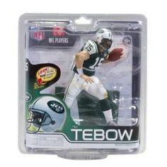 Tim Tebow New York Jets McFarlane action figure new in original packaging  NFL 9d6af2fbb