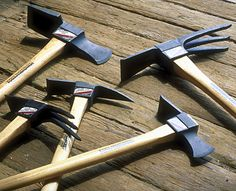 Pickax: This tool is a necessity when your soil is rocky or full of tree roots. This is listed as one of 10 Best Tools for Turning the Soil: Organic Gardening
