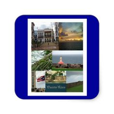 SOLD! in #SanJuan PR, San Juan, Puerto Rico Stickers on blue background.  :-)