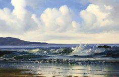 Eilleen Meagher: Connemara Shoreline Old Irish, Irish Art, Irish Roots, Connemara, Emerald Isle, Contemporary Paintings, Dublin, Imagination, Ireland