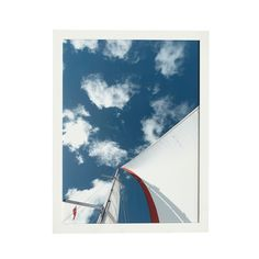 Sailboat Wall Art - Sail in the Clouds - NEW