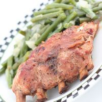 Pork Ribs In Electric Roaster Roaster Oven Reciepys