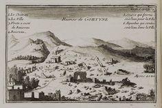 Η αρχαία Γόρτυνα στα 1717… Les Runes, Old Maps, Vintage Photos, Vintage World Maps, The Past, Ruins, Venice, Antique Maps, Vintage Photography