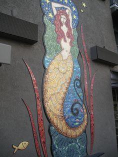 Mosaic Mermaid - Marina Del Rey - KAC 2012