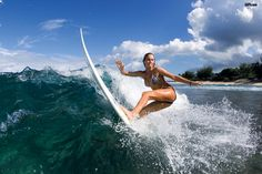 learn to surf... this one also terrifies me.