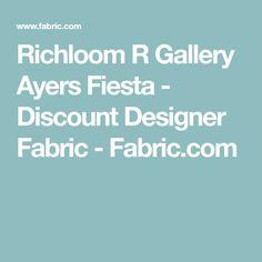 Richloom R Gallery Ayers Fiesta - Discount Designer Fabric - Fabric.com
