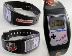 Twitter / Nyleak: Check out this AWESOME Nintendo Gameboy watch