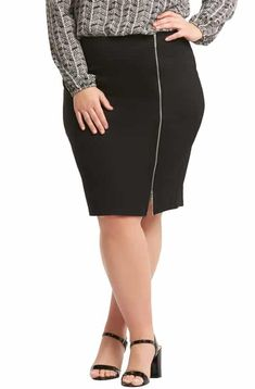 43aae93ce16 Lemon Tart Arianna Zip Pencil Skirt (Plus Size) Latest Clothing Trends
