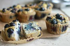 Coconut Flour Blueberry Apple Sauce Muffins Recipe on Yummly. @yummly #recipe