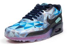 "Nike Air Max 90 ICE ""Blue, Green & Magenta"""