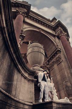 Wedding, San Francisco, Palace of Fine Art