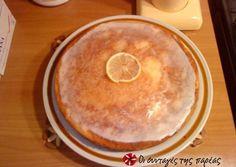 Αμερικάνικο κέικ λεμονιού