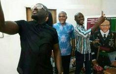 Biafra: Popular Nollywood actor Jim Iyke visits Nnamdi Kanu [PHOTOS]