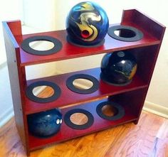 Bowling Ball Rack Beat By Premium Case 9