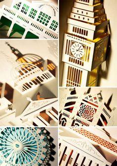 London Landmarks Pop-Up Cards
