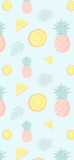 Pineapples iPhone Background
