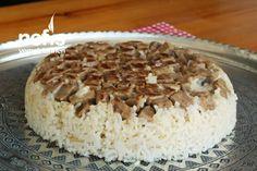 Maklube Tarifi (videolu) - Nefis Yemek Tarifleri Krispie Treats, Rice Krispies, Desserts, Food, Tailgate Desserts, Deserts, Essen, Postres, Meals