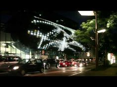 Hyperillusion Graz. 2015 - YouTube Projection Mapping, Three Dimensional, Marina Bay Sands, Youtube, Sculptures, Environment, Poster, Beautiful, Landscape