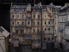 model domů do filmu Parfém - příběh vraha Louvre, Film, Building, Model, Travel, Movie, Movies, Viajes, Film Stock