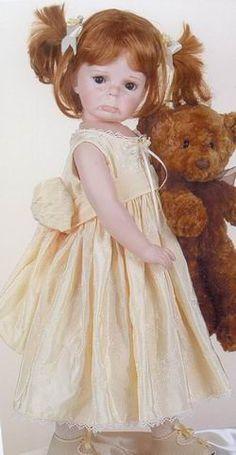 The Doll Maker Dolls by Linda Rick Doll Toys, Dolls Dolls, Realistic Dolls, Dream Doll, Vinyl Dolls, Little Doll, Doll Maker, Child Doll, Dollhouse Dolls