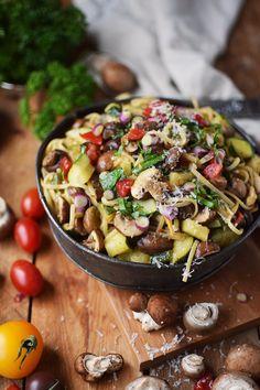 One Pot Sommer Pasta - One Pot Summer Pasta | Das Knusperstübchen