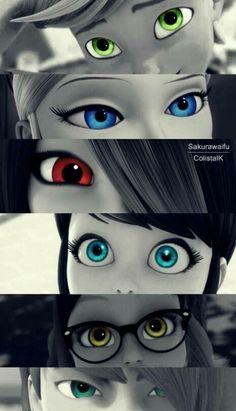 los ojos nos pueden contar que sentimos, quienes somos ... pero una cosa es ver .. y otra cosa es querer