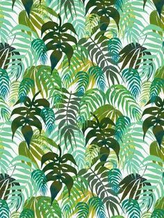 LOST - In the jungle Art Print by SchatziBrown tropical pattern jungle Motif Jungle, Jungle Art, Jungle Pattern, Motif Tropical, Tropical Pattern, Tropical Prints, Palm Print, Tropical Design, Tree Print
