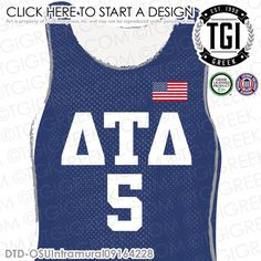 Delta Tau Delta | ΔΤΔ | Intramural | Athletics | Brotherhood | Greek Life | Intramural Tee | Intramural Jersey | TGI Greek | Greek Apparel | Custom Apparel | Fraternity Tee Shirts | Fraternity Tanks | Fraternity T-shirts