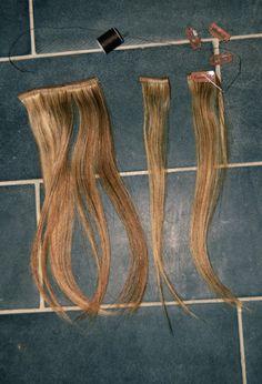 DIY Hair Extention Clips
