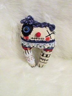 Albert the Ratty Tatty Monster by alittlecatty on Etsy, $22.00