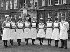 Nurse Uniforms, Nursing Pictures, Old Hospital, Vintage Nurse, Birmingham England, Sixties Fashion, Romance Authors, Nurse Stuff, Midwifery