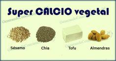 TODAS LAS RECETAS : El calcio en las dietas basadas en vegetales.