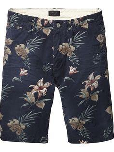 Basic Cotton Shorts |Short pants|Men Clothing at Scotch & Soda