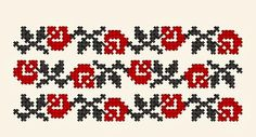motiv in cruce floare Celtic Cross Stitch, Cross Stitch Rose, Cross Stitch Flowers, Embroidery Stitches, Embroidery Patterns, Hand Embroidery, Beading Patterns, Cross Stitch Patterns, Palestinian Embroidery
