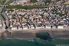 ✈️ Photo aérienne de : Wimereux - Pas-de-Calais (62)